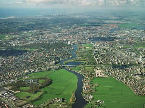 Haarlem vanuit de lucht
