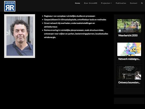 Homepage Grondrr